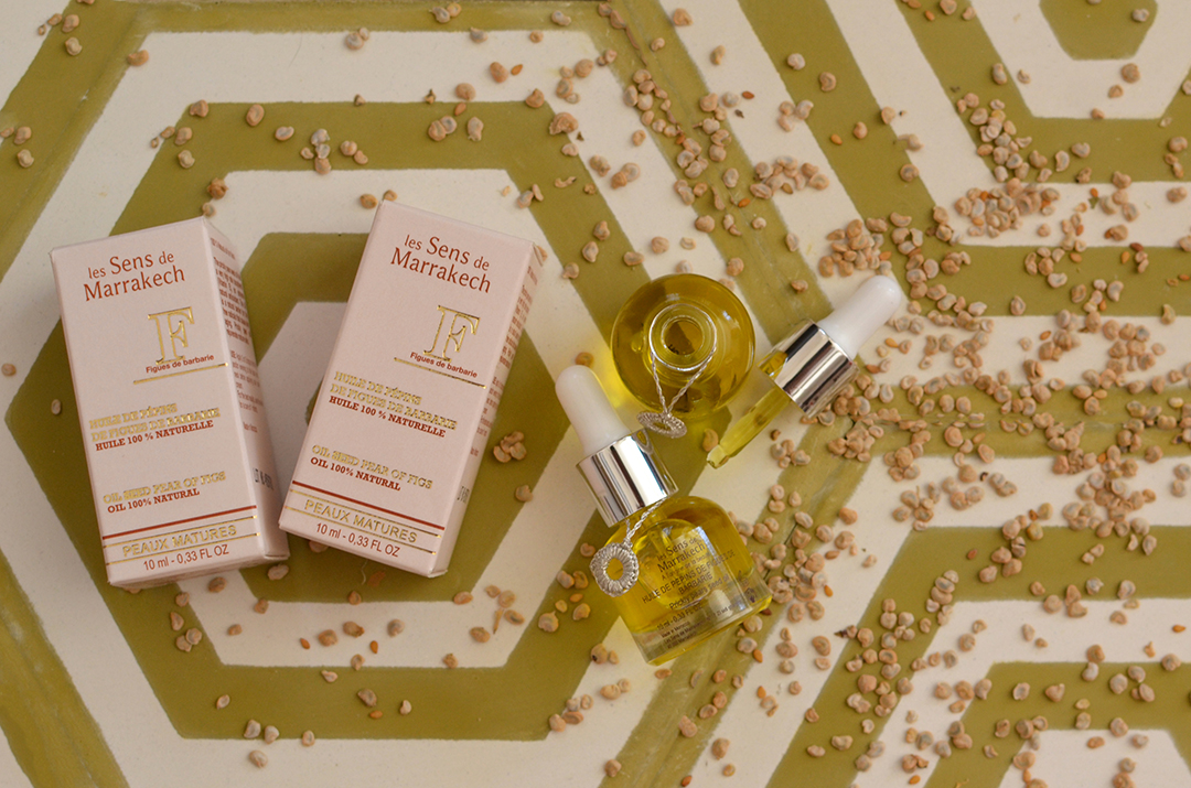 the 100% natural prickly pear oil from Morocco