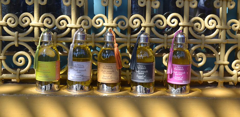 article huile sensuelle à l'huile d'argan